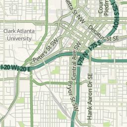 Atlanta Georgia Live Traffic The Atlanta Acorn - Georgia map traffic