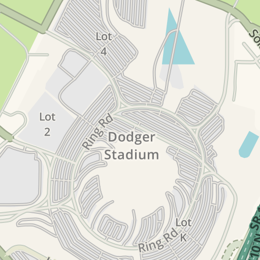 Dodgers Parking Map on