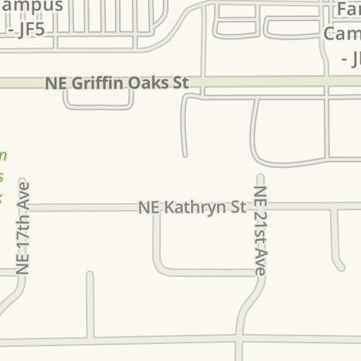 Intel Jones Farm Campus Map.Waze Livemap Driving Directions To Parking Intel Jones Farm
