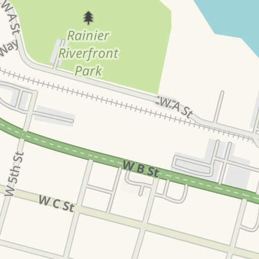 Waze Livemap Driving Directions To Fibre Federal Credit Union