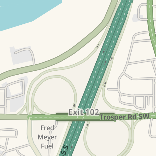 Waze Livemap - Driving Directions to Michael T Simmons