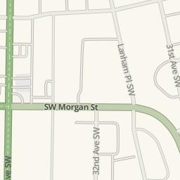 Waze Livemap   Driving Directions To U Haul Moving U0026amp; Storage Of West  Seattle, Seattle, United States
