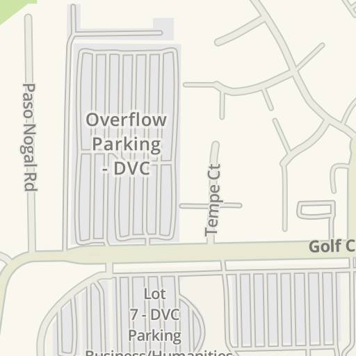 Waze Livemap - Driving Directions to Food Court - DVC, Pleasant Hill on