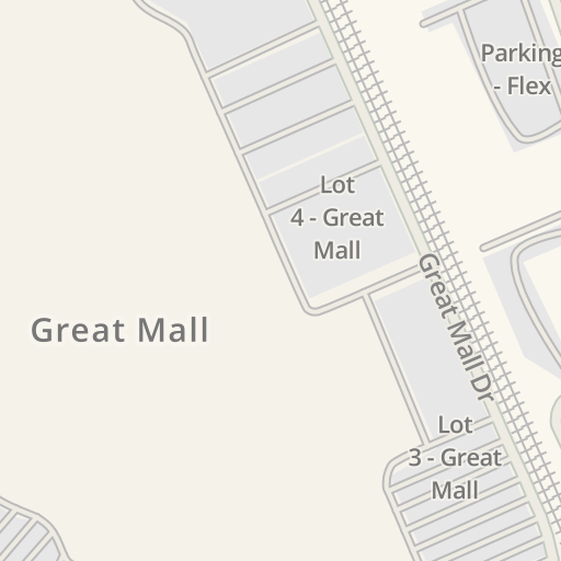 Waze Livemap Driving Directions To Century 20 Great Mall Milpitas