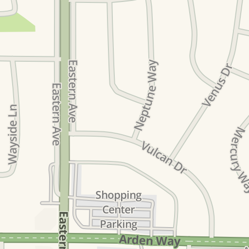 Waze Livemap - Driving Directions to 1721 Eastern, Arden