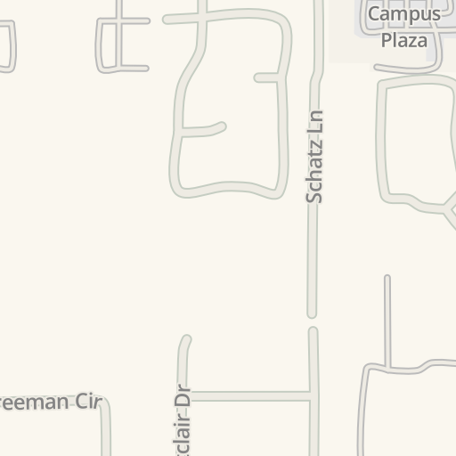 Waze Livemap Driving Directions To Lot B Sierra College Rocklin