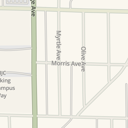 Waze Livemap Driving Directions To Mjc East Campus Modesto