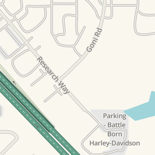 Waze Livemap - Driving Directions to The Home Depot, Carson City ...