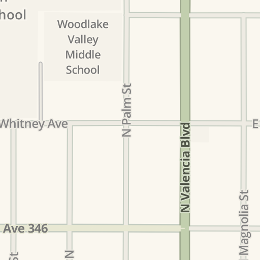 Waze Livemap - Driving Directions to Valley Pure, Woodlake