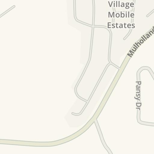 Waze Livemap Driving Directions To Bay Laurel Elementary School