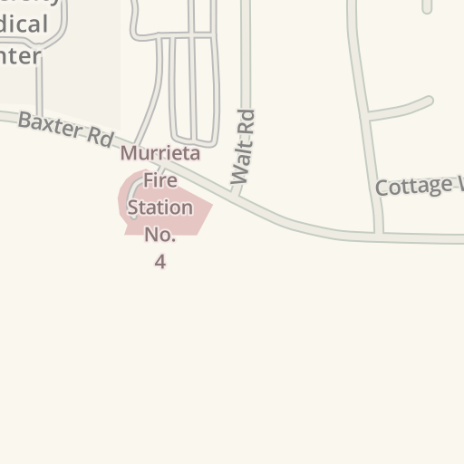 Waze Livemap - Driving Directions to Murrieta Fire Station
