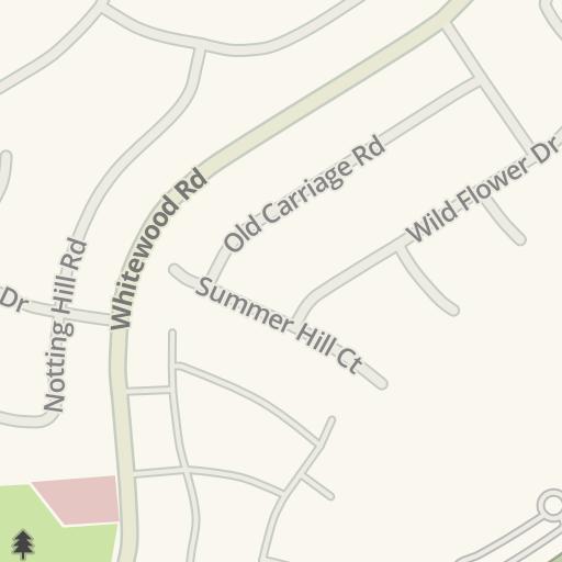 Waze Livemap Driving Directions To Murrieta Fire Station No 3