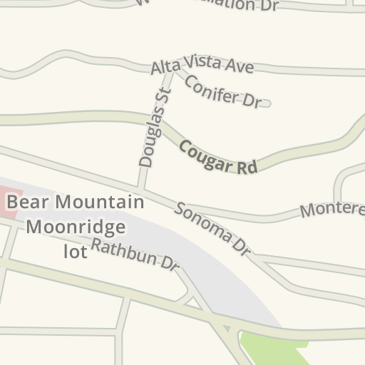 Big Bear Lake Fire Map.Waze Livemap Driving Directions To Big Bear Fire Moonridge Station