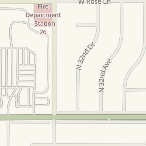 Waze Livemap - Driving Directions to Payless Shoes, Phoenix, United States