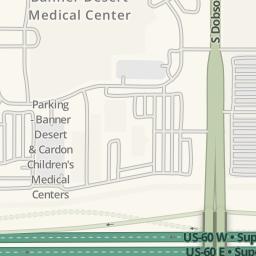 Waze Livemap - Driving Directions to Banner Desert Medical ... on map of lsuhsc shreveport, map of chandler regional hospital, map of phoenix memorial park, map of milton hershey medical center, map of va, map of lij hospital, map of mckee medical center,