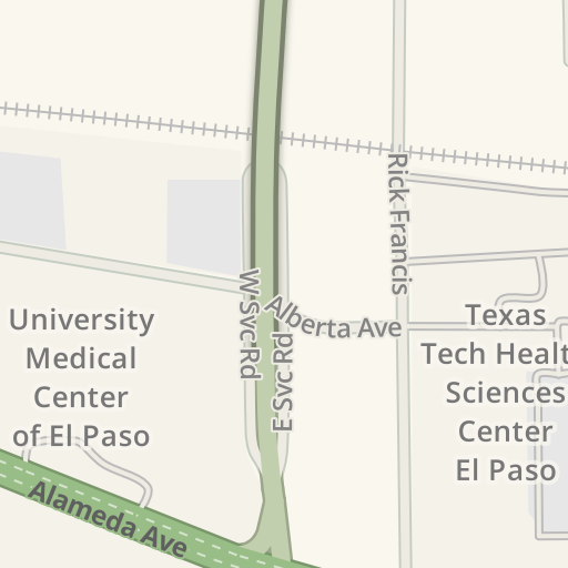 Waze Livemap - Driving Directions to Texas Tech Physicians of El