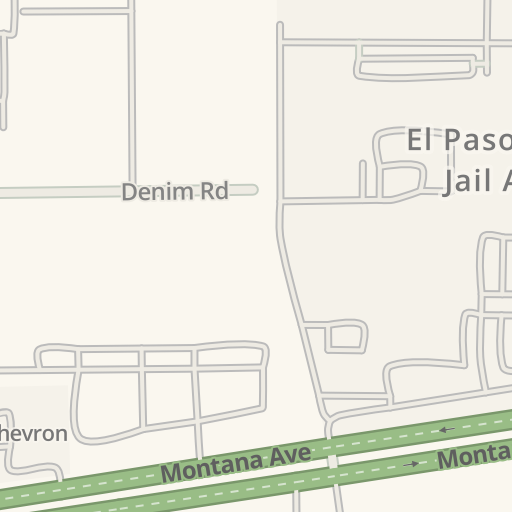 Waze Livemap Driving Directions To El Paso County Jail Annex El