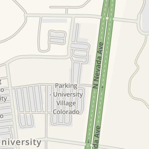 Waze Livemap - Driving Directions to Parking - UCHealth Grandview