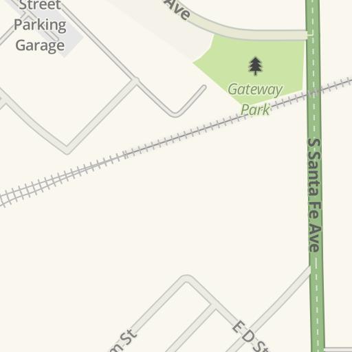 Driving Directions To Main Street Parking Garage Pueblo United