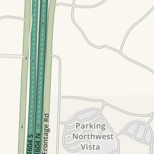 Waze Livemap - Driving Directions to Parking - Northwest Vista ...