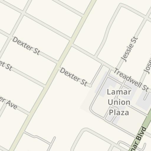 Waze Livemap Driving Directions To Alamo Drafthouse Cinema South