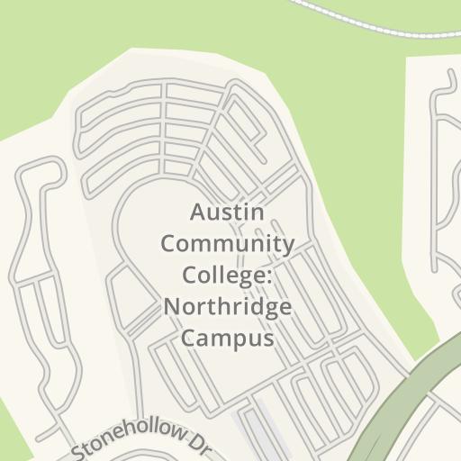 Waze Livemap Driving Directions To Lot B Austin Community
