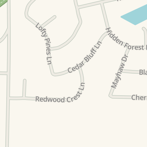 Waze Livemap Driving Directions To Yellow Rose Steak Amp Chop