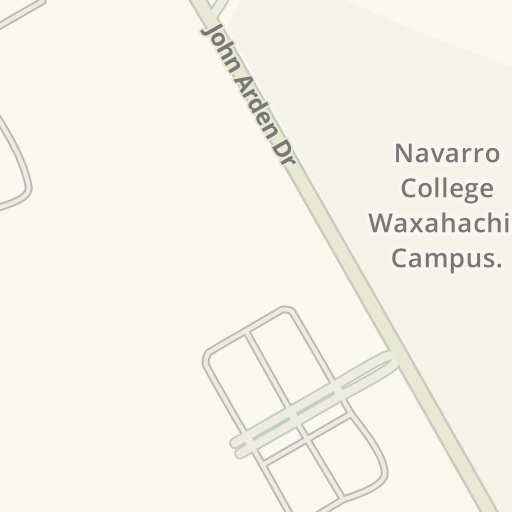 Navarro College Campus Map.Waze Livemap Driving Directions To Navarro College Waxahachie