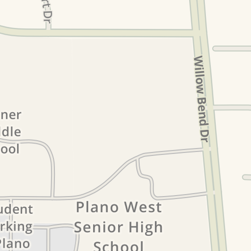 Driving Directions to Renner Middle School Visitor Parking