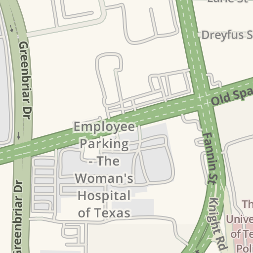 Map Of Texas Medical Center.Waze Livemap Driving Directions To Smith Lands Lot West Texas