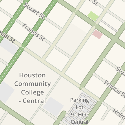 Waze Livemap Driving Directions To Hcc Central Learning Hub