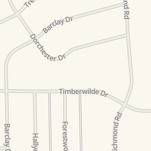 Waze Livemap Driving Directions To Rounders Pizza Tyler United