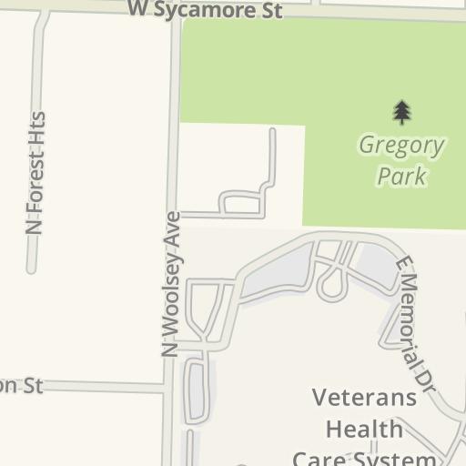 Waze Livemap - Driving Directions to VA Medical Center ...