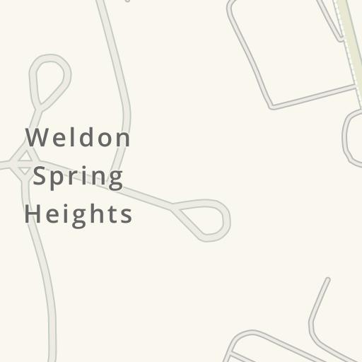 Waze Livemap - Cómo llegar a Missouri State Highway Patrol