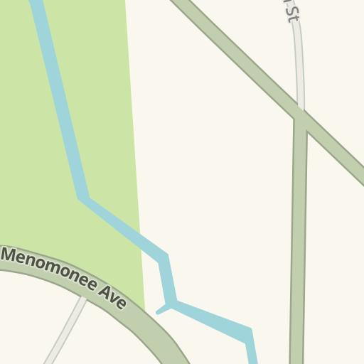 Ernie Von Schledorn >> Waze Livemap Driving Directions To Ernie Von Schledorn Menomonee