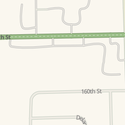 Waze Livemap   Driving Directions To Community Honda Of Orland Park, Orland  Park, United States