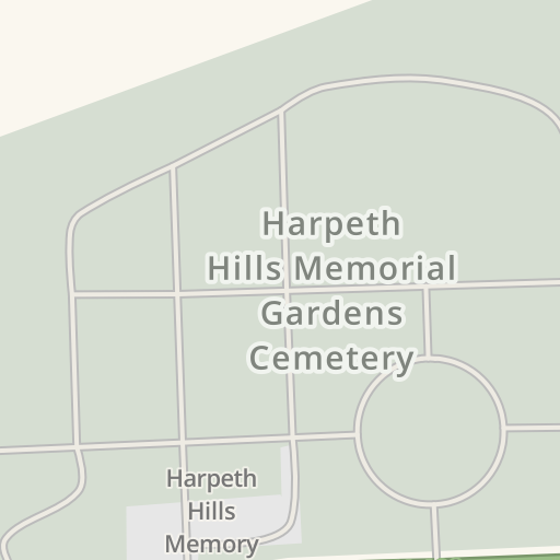Waze Livemap Driving Directions To Harpeth Hills Memorial Gardens