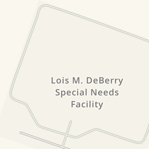 Waze Livemap Driving Directions To Lois M Deberry Special Needs