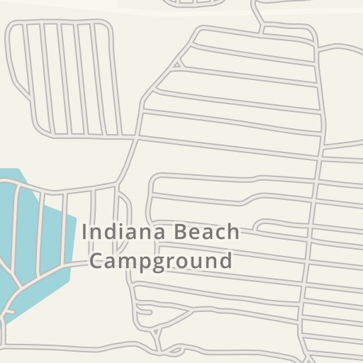 Waze Livemap - Driving Directions to Indiana Beach Campground ...