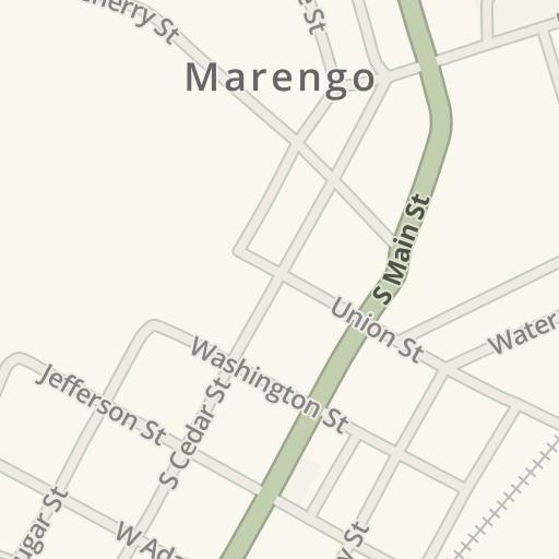 Marengo Cave Map