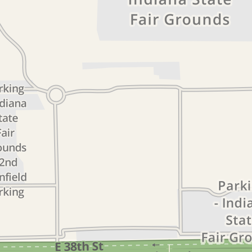 Waze Livemap - Driving Directions to Parking - Indiana State Fair ...