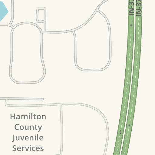 Waze Livemap - Driving Directions to Hamilton County Jail