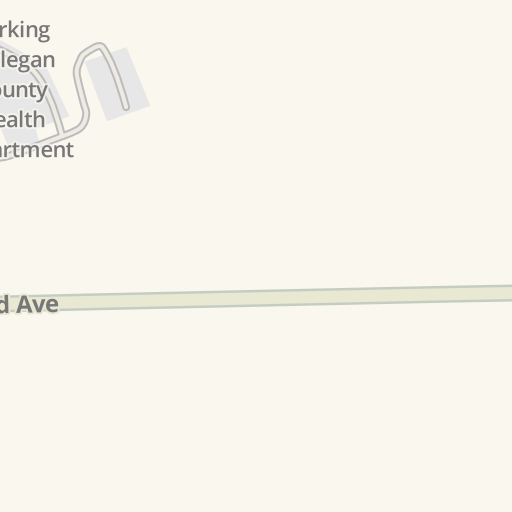 Waze Livemap Driving Directions To Allegan County Community Mental