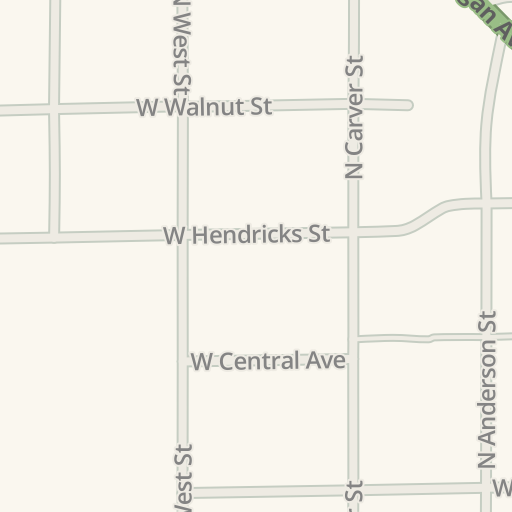 Waze Livemap Driving Directions To Spartan Staffing Greensburg