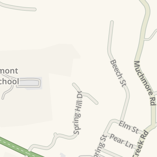 Waze Livemap Driving Directions To The Snooty Fox Consignment Clothing And Furniture Den Mariemont United States