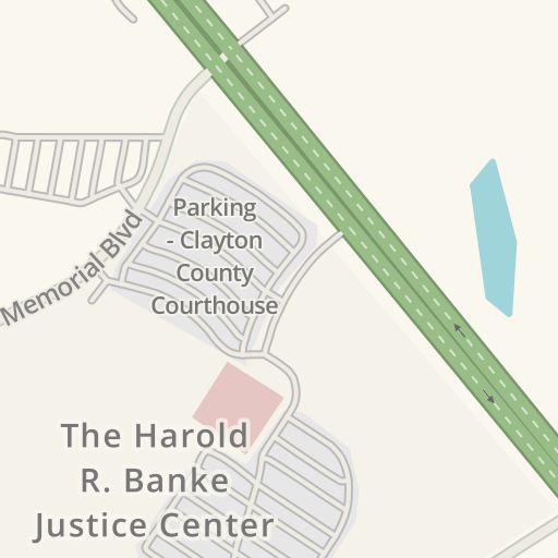 Waze Livemap - Driving Directions to CLAYTON COUNTY JUDICIAL