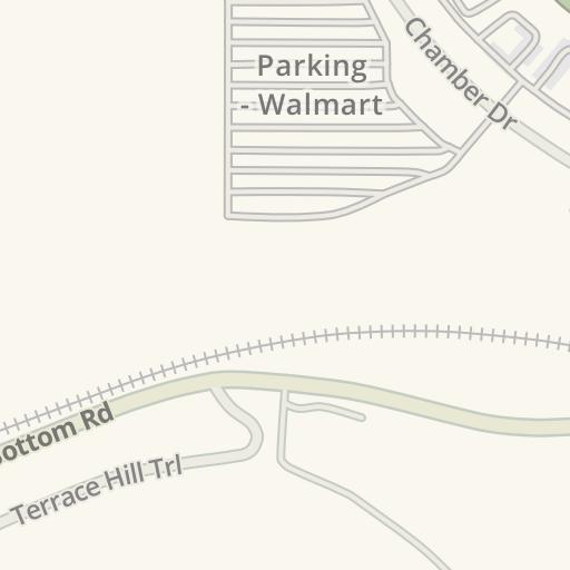 Waze Livemap - Cómo llegar a UC Health Primary Care Milford