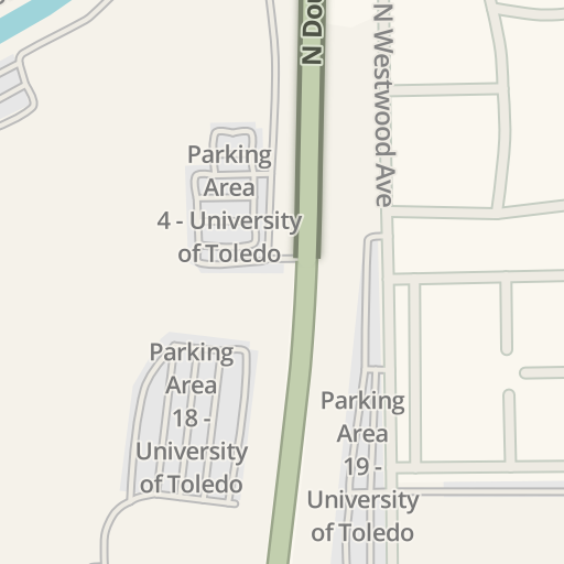 Waze Livemap - Driving Directions to Parking Area 10 - University of ...