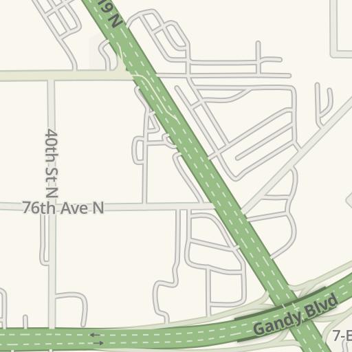 Waze Livemap Driving Directions To Regal Park Place Stadium 16
