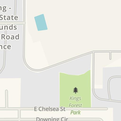 Florida State Fairgrounds Map.Waze Livemap Driving Directions To Florida State Fairgrounds